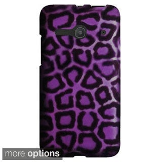 INSTEN Premium Design Pattern Rubberized Hard Snap-on Phone Case Cover For Alcatel One Touch Evolve 2