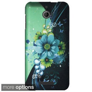 INSTEN Pattern Design Rubberized Matte Hard Plastic PC Slim Snap-on Phone Case Cover For HTC Desire 510