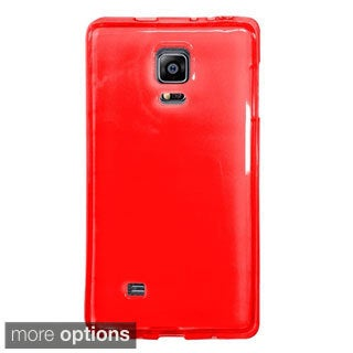 INSTEN Premium Plain Color TPU Rubber Candy Skin Slim Phone Case Cover For Samsung Galaxy Note Edge