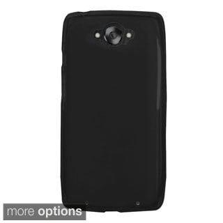 INSTEN Premium Plain Color TPU Rubber Candy Skin Slim Phone Case Cover For Motorola Droid Turbo