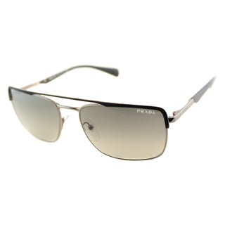 Prada Men's PR 50QS GAQ2D0 Aviator Sunglasses