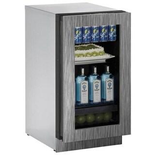 U-Line 3000 Series 3018- 18 Inch Integrated Framed Glass Door Refrigerator