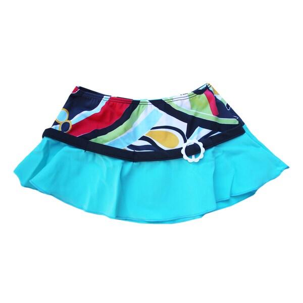 Azul Swimwear Girls' 'Rockin Retro' Swim Skirt
