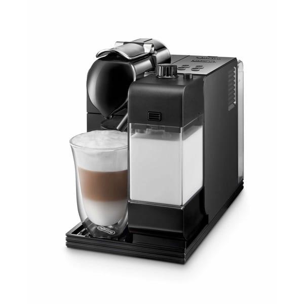 DeLonghi EN520BK Black Lattissima Plus Nespresso Capsule System