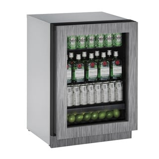 U-Line 2000 Series 2224- 24 Inch Integrated Framed Glass Door Refrigerator