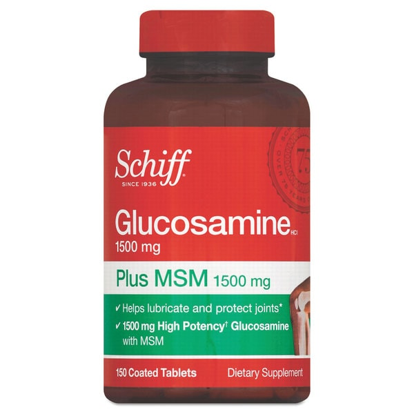 Schiff Glucosamine Plus MSM Tablet 150 Count