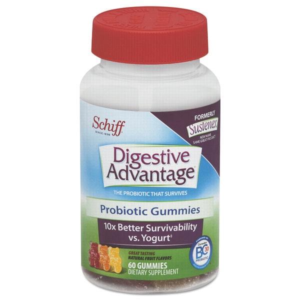 Digestive Advantage Probiotic Gummies 60 Count