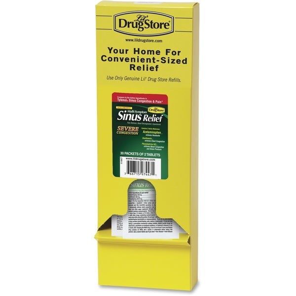Lil' Drugstore Sinus Relief 12 Count