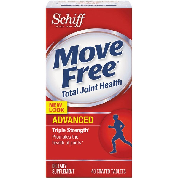 Move Free Advanced Total Joint Health Tablet 40 Count