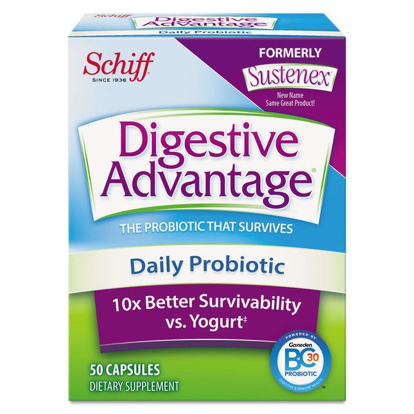 Digestive Advantage Daily Probiotic Capsule 50 Count