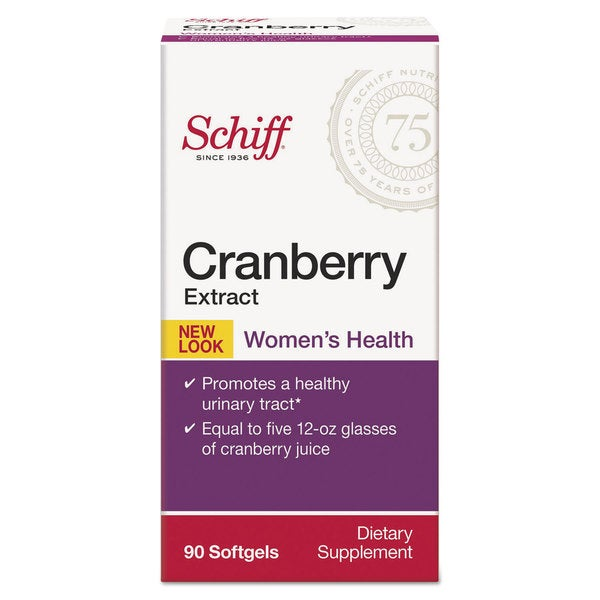 Schiff Cranberry Extract Softgel 90 Count