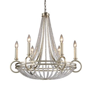 Elk Lighting Trump Home New York 6-light Renaissance Silver Chandelier