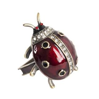 Ladybug Napkin Ring - set of 4