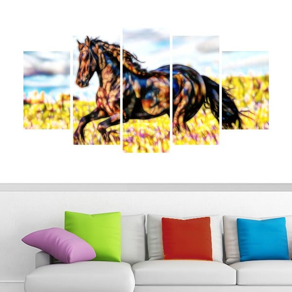 Ride Free Horse Animal Art Canvas (Multiple Sizes)