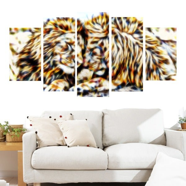 Soul Mates Lion Animal Canvas Art (Multiple Sizes)