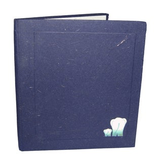 Mr. Ellie Pooh Big Dark Blue Dung Paper Sketch Book (Sri Lanka)