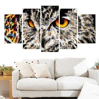 A Real Hoot Owl Animal Canvas Art (Multiple Sizes)