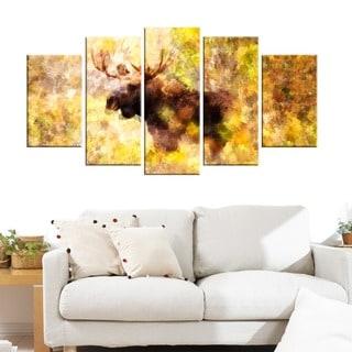 Magnificent Moose Animal Art (Multiple Sizes)