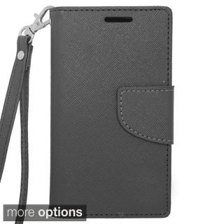 INSTEN Folio Flip Leather Stand Wallet Phone Case Cover For Samsung Galaxy Exhibit SGH-T599