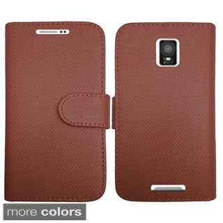 INSTEN Premium Folio Flip Leather Stand Wallet Phone Case Cover For Samsung Galaxy Note 4