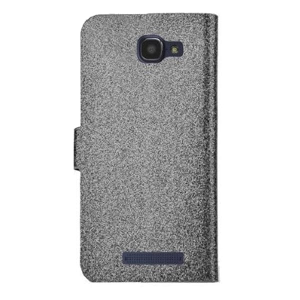 INSTEN Stand Folio Flip Glitter Leather Phone Case Cover With Diamond For Alcatel One Touch Fierce 2 7040T
