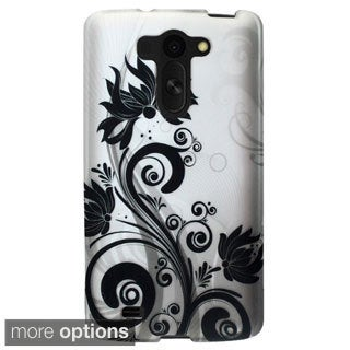 INSTEN Pattern Design Style Rubberized Hard Plastic PC Snap-on Phone Case Cover For LG G Pro 2 Lite/ G VISTA