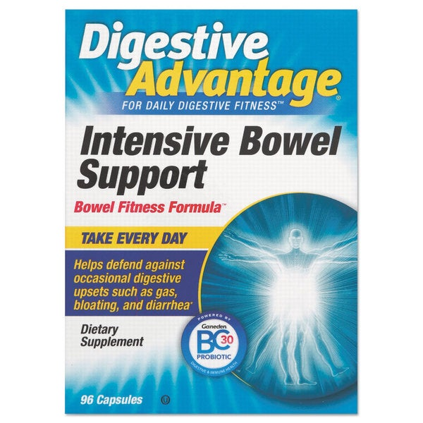Digestive Advantage Probiotic Intensive Bowel Support Capsule 96 Count