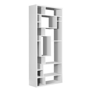 White Hollow-core Bookcase