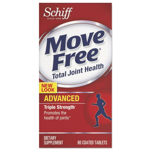 Move Free Advanced Total Joint Health Tablet 80 Count