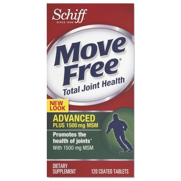 Move Free Advanced Plus MSM Total Joint Health Tablet 120 Count