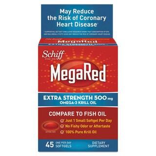 MegaRed Omega-3 Krill Oil Softgel 45 Count