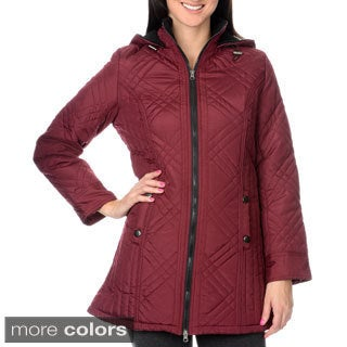 KC Collections Women's Quilted Walker