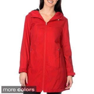 KC Collections Women's Faux Silk Bal McCaan Coat