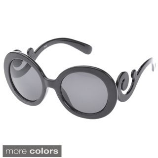 Epic Eyewear Women's 'Dolly' Scroll Temple Sunglasses