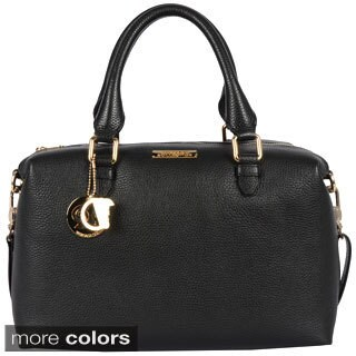 Versace Collection Ladies Small Pebble Leather Duffle