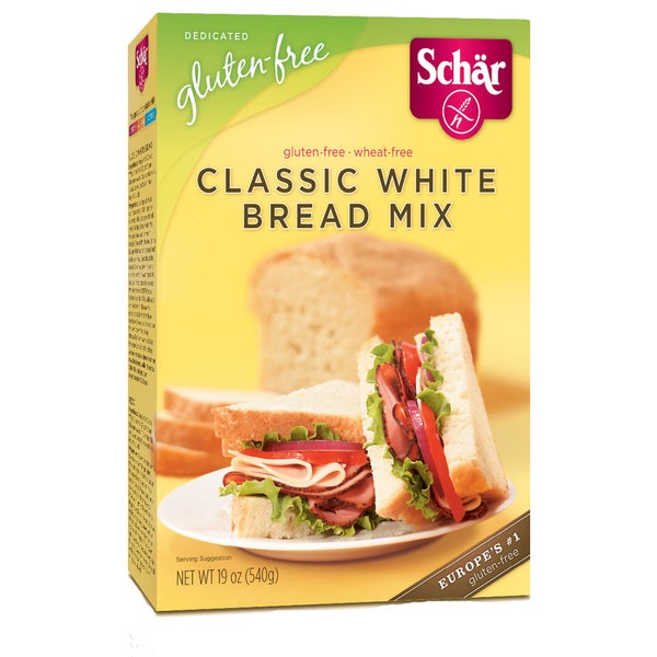 Schar Gluten-free Classic White Bread Mix (Case of 6)