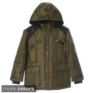 KC Collections Boy's Puffer Jacket