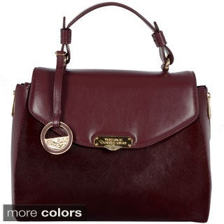 Versace Collection Ladies Pony Hair Satchel
