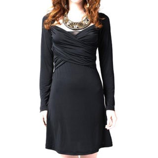 Sara Boo Black Cut Back Dress