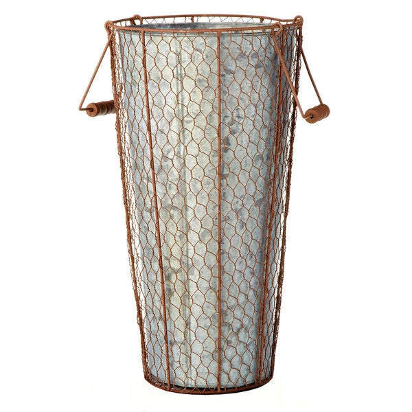10-inch x 18-inch Chicken Wire Bucket