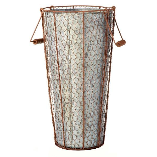 10-inch x 18-inch Chicken Wire Bucket