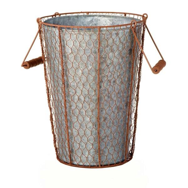 10-inch x 13-inch Chicken Wire Bucket