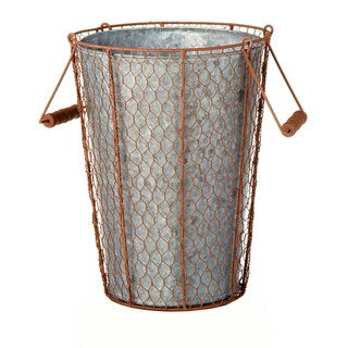 10-inch x 13-inch Chicken Wire Bucket