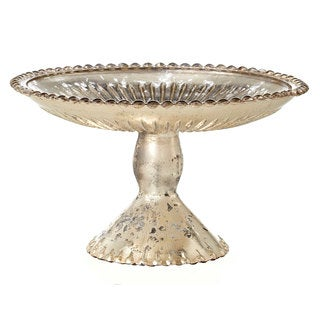 8-inch Glass Cake Plate On Stand