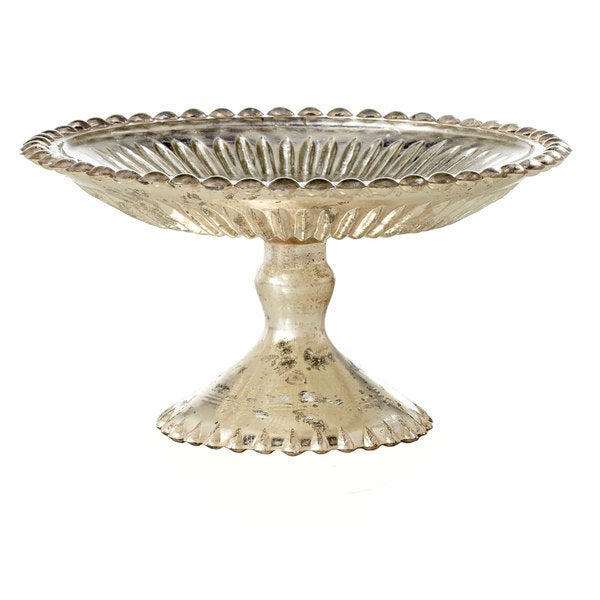 7-inch Glass Cake Plate On Stand