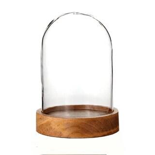 4-inch x 6-inch Glass Dome Cloche