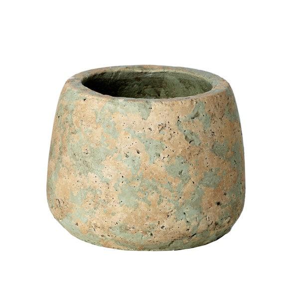 7-inch x 7-inch x 5.25-inch Small Concrete Pot