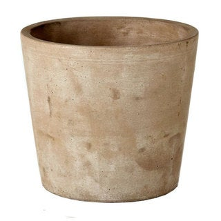 5.5-inch x 5.5-inch x 5-inch Small Cement Growers Pot
