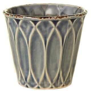 4.33-inch x 4.33-inch x 3.94-inch Ceramic Glazed Pot Medium (Pack of 4)