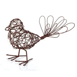 5.5-inch x 4-inch Wire Standing Bird (Pack of 6)